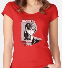 most wanted Women's Fitted Scoop T-Shirt
