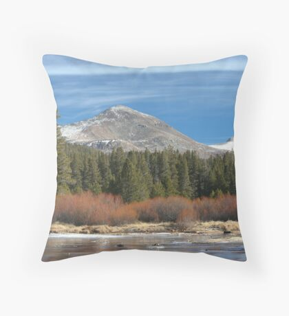 Tuolumne River 2 Throw Pillow