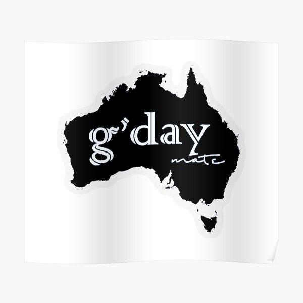 Australia - g'day mate! Poster