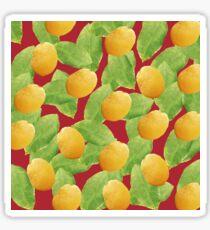 Just Lemons Sticker