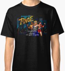 Streets of Rage (Genesis) Title Screen Classic T-Shirt