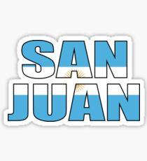 San Juan Sticker