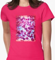Under the Cherry Blossoms Women's Fitted T-Shirt
