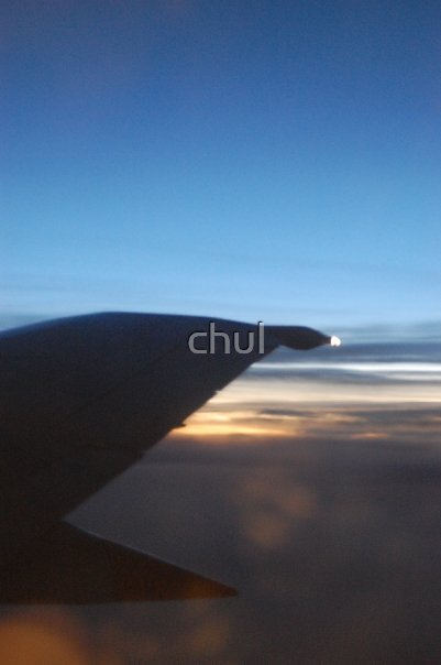 airplane view by chul