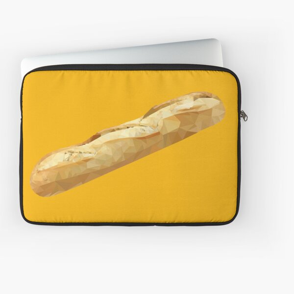 Baguette - Low Poly Design Laptop Sleeve