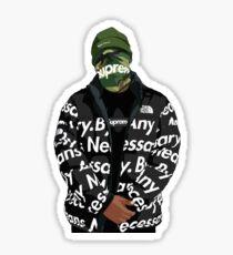 HYPEBEAST Supreme Sticker Sticker