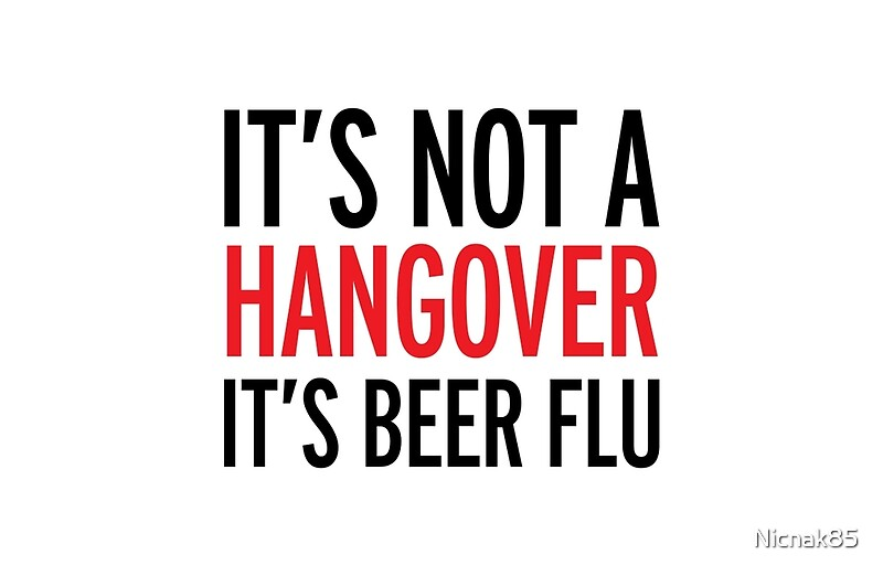 how to not get a hangover from beer
