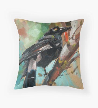 bird-12 Throw Pillow