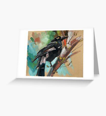 bird-12 Greeting Card