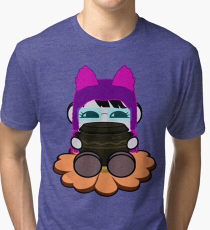 STPC: Ogi Gogi O'BOT Toy Robot (Kimchi Jar) Tri-blend T-Shirt
