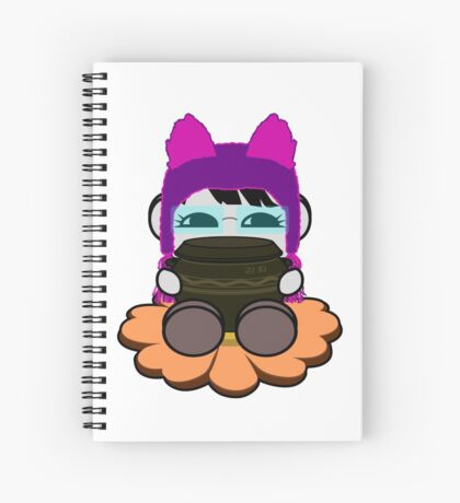 STPC: Ogi Gogi O'BOT Toy Robot (Kimchi Jar) Spiral Notebook