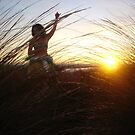 Dance to the fading Sun... - Shooters Gallery by Anthea  Slade