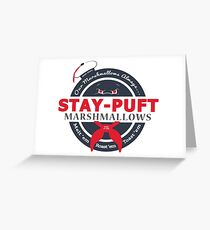 Stay-Puft Greeting Card