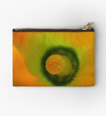 The Heart Of The Marrow - Courgette Flower - NZ Studio Pouch