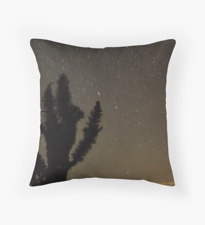 Mojave Night 2 Throw Pillow
