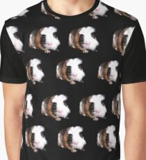 Tortoiseshell Fluffy Guinea Pigs,  Graphic T-Shirt