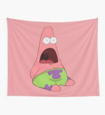 Surprised Patrick Wall Tapestry