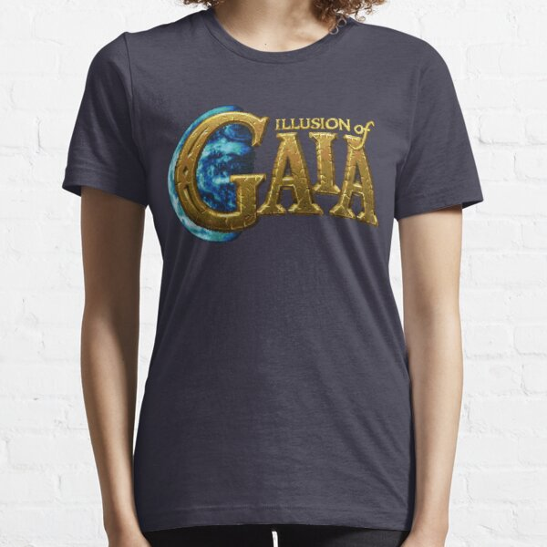 Illusion of Gaia (SNES) Title Screen Essential T-Shirt