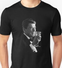 President Reagan Making A Toast Unisex T-Shirt