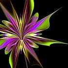 Purple Splash by Pam Amos