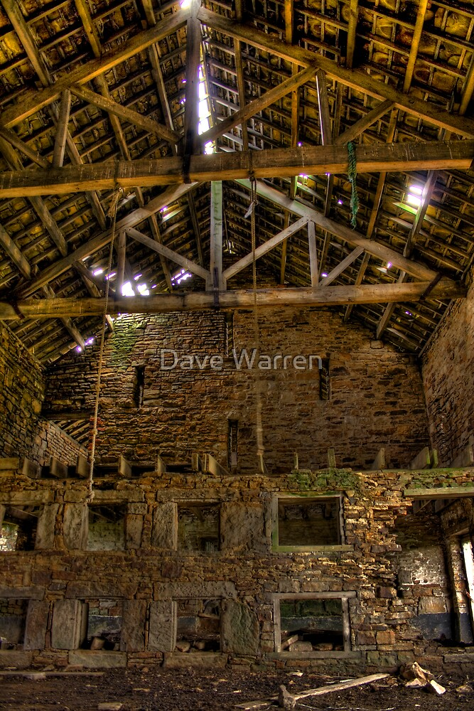 The Hanging Barn by Dave Warren