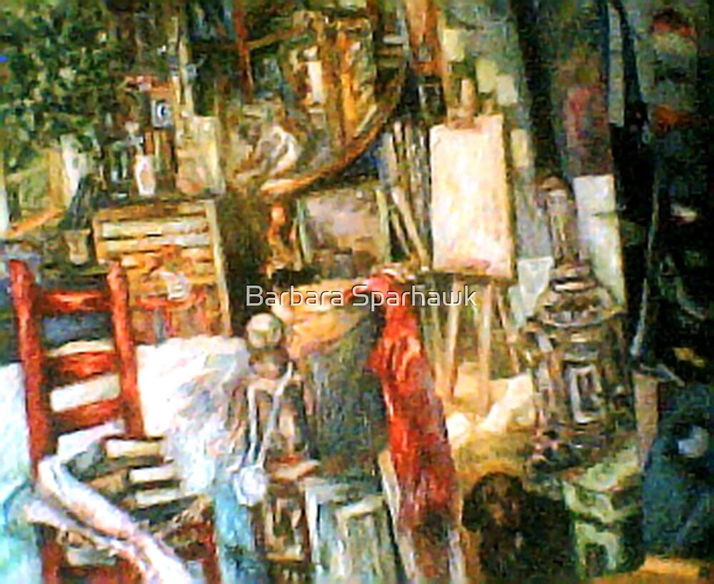 The Studio & Spirits, Second Detail by Barbara Sparhawk