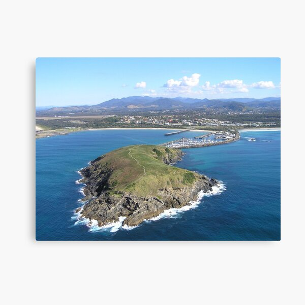 Muttonbird Island - Coffs Harbour, NSW Australia Canvas Print