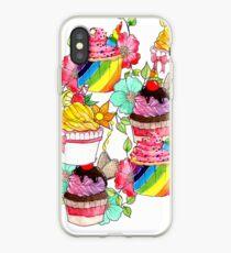 Amelia's Gourmet Cupcakes iPhone Case