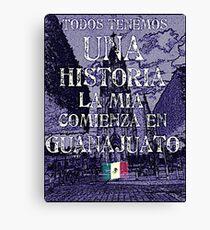 historia Canvas Print