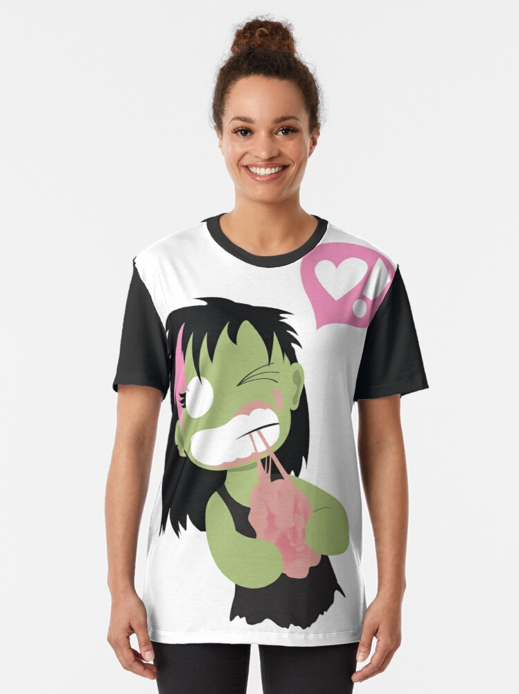 Alternate view of Mini Zombie Graphic T-Shirt