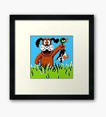 """Retro Retriever"" Duck Hunt Framed Print"