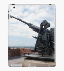 A WW2 Bofors Anti-Aircraft Gun iPad Case/Skin