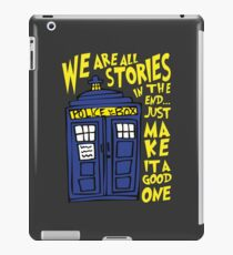 Tardis Stories iPad Case/Skin