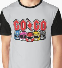 Go Go Rock and Rollin' Mighty Morphin' Graphic T-Shirt