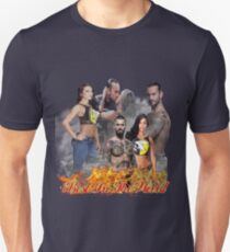Cm Punk Aj Lee Unisex T-Shirt