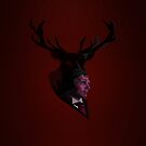The Stag - Crimson by jlechuga