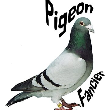 Pigeon Fancier Art Gifts by ckeenart