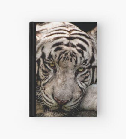 Weißer Tiger Notizbuch