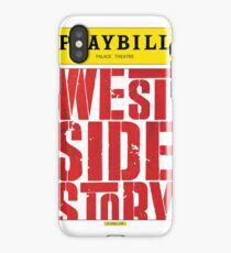 West Side Story Playbill iPhone Case/Skin