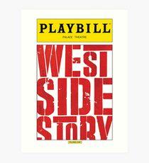 West Side Story Playbill Art Print