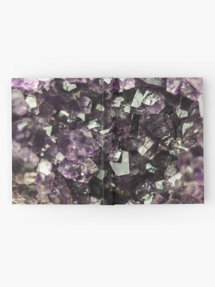 Alternative Ansicht von Amethyst Kristalle Notizbuch