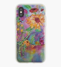 Floral Dream, Acrylic Painting  iPhone Case