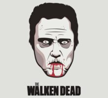 "Christopher Walken - ""The Walken Dead"" Official T-Shirt 
