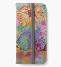 Floral Dream, Acrylic Painting  iPhone Wallet/Case/Skin