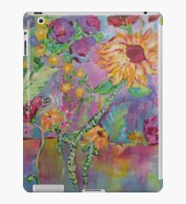Floral Dream, Acrylic Painting  iPad Case/Skin