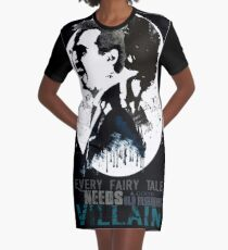 Sherlock Holmes - Old Fashioned Villain Graphic T-Shirt Dress
