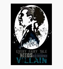 Sherlock Holmes - Old Fashioned Villain Photographic Print