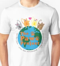 Safe World for Cats - The Paw Project Unisex T-Shirt