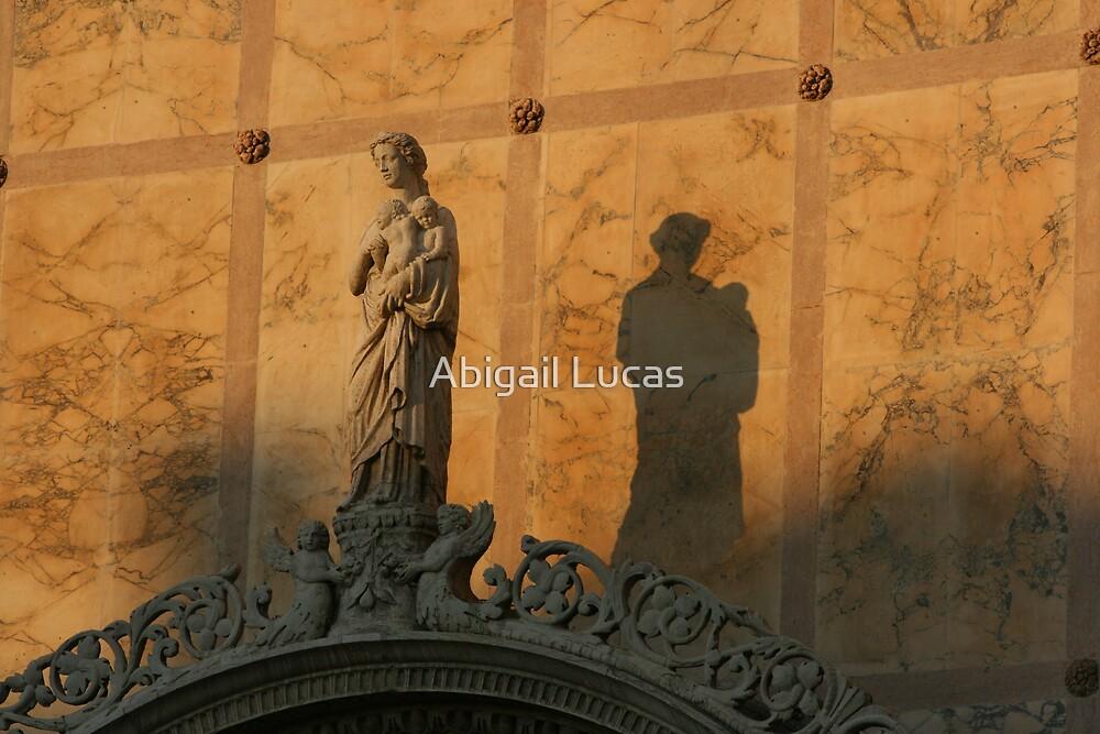 Statue shadow, Venice by Abi Skeates