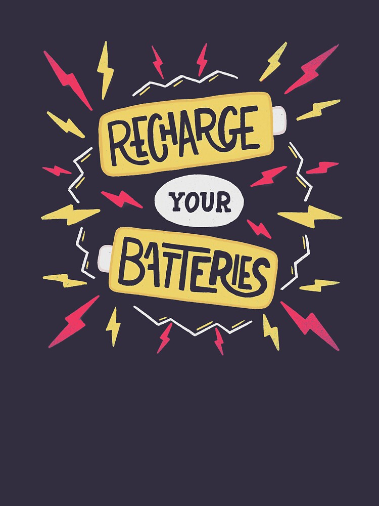 Recharge your batteries by romaricpascal